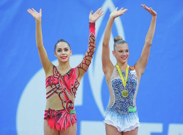 Маргарита Мамун и Александра Солдатова (слева направо)