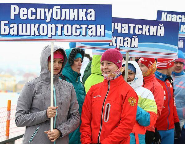 Церемония открытия всероссийской зимней Универсиады в Саранске