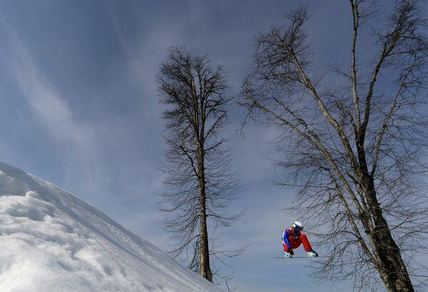 Французская сноубордистка Клоэ Треспеш