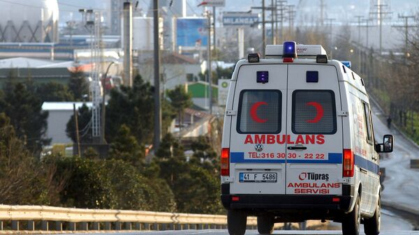 Машина скорой помощи в Турции