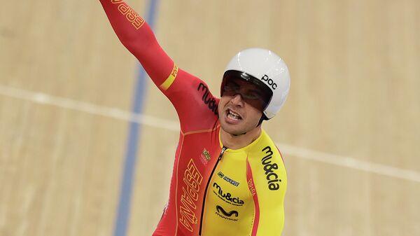 Испанский велогонщик Себастьян Мора Ведри