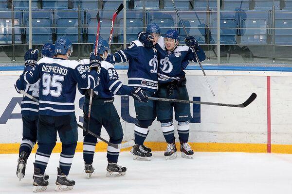 Хоккеисты Динамо (Балашиха)
