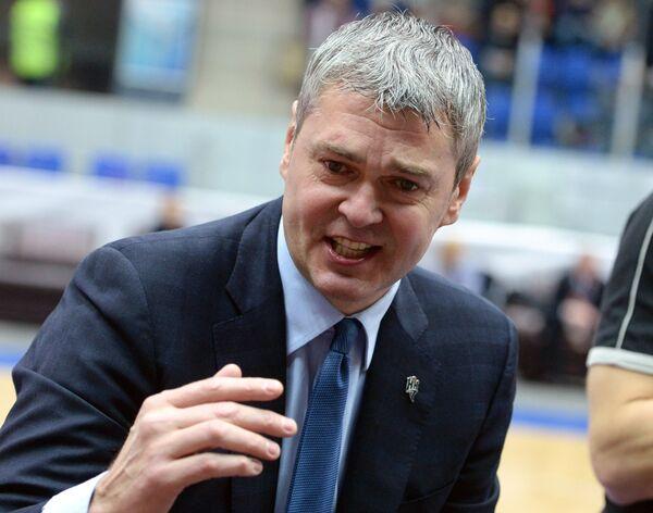 Главный тренер БК Нижний Новгород Айнарс Багатскис