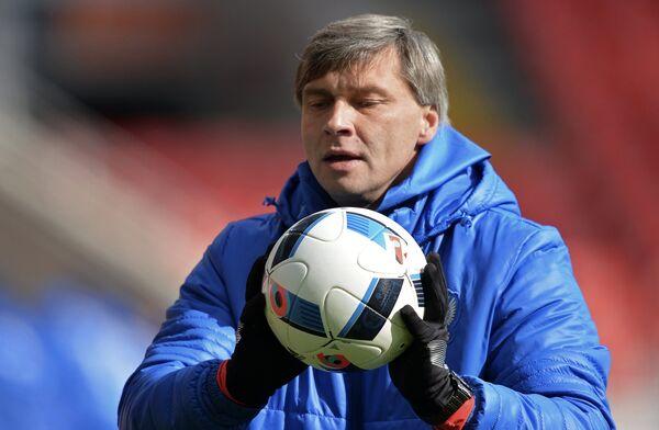 Тренер сборной России Сергей Овчинников
