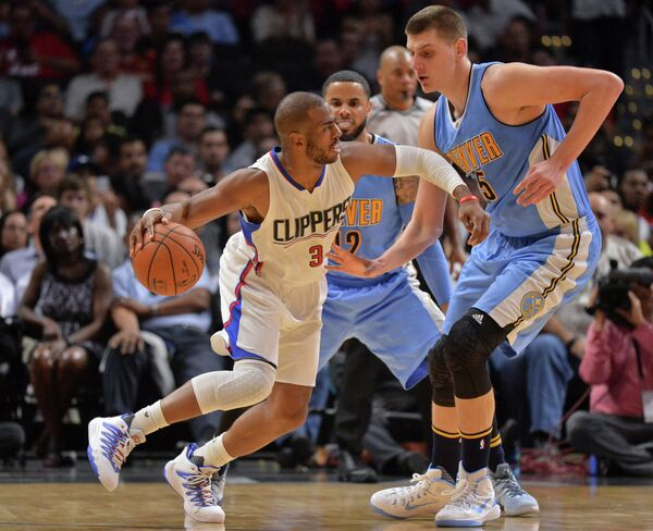 Защитник клуба НБА Лос-Анджелес Клипперс Крис Пол (№3)