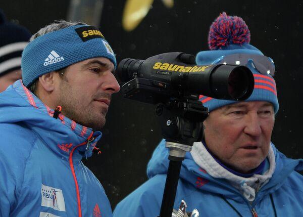Рикко Гросс (слева) и Владимир Брагин