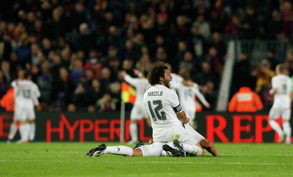 Защитник мадридского Реала Марсело