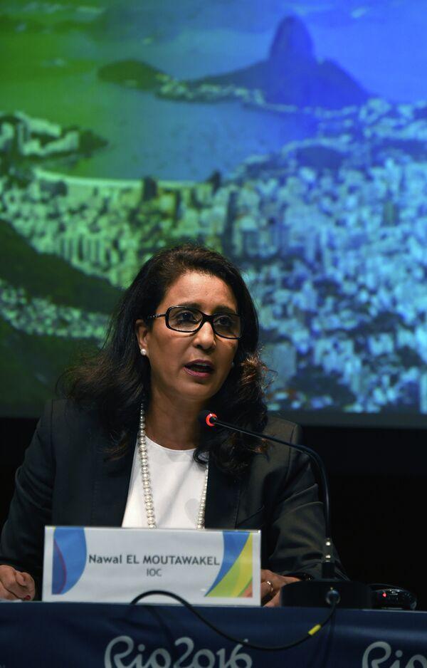 Глава координационной комиссии Международного олимпийского комитета (МОК) Наваль Эль Мутавакель