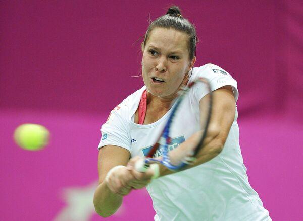 Чешская теннисистка Люси Градецкая