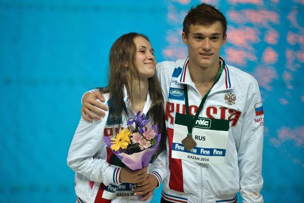 Никита Шлейхер и Юлия Тимошинина
