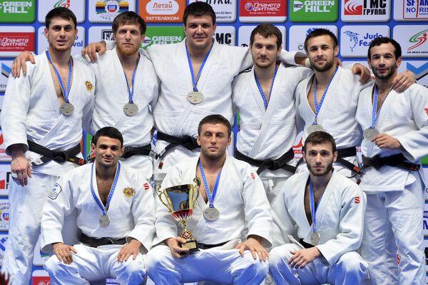 Дзюдоисты сборной России