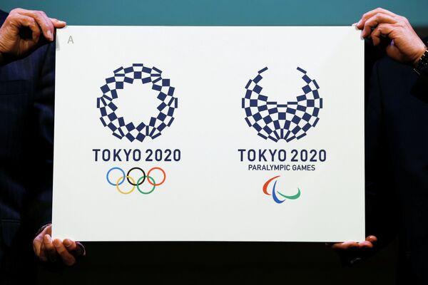 Новые эмблемы Олимпийских и Паралимпийских игр 2020 в Токио