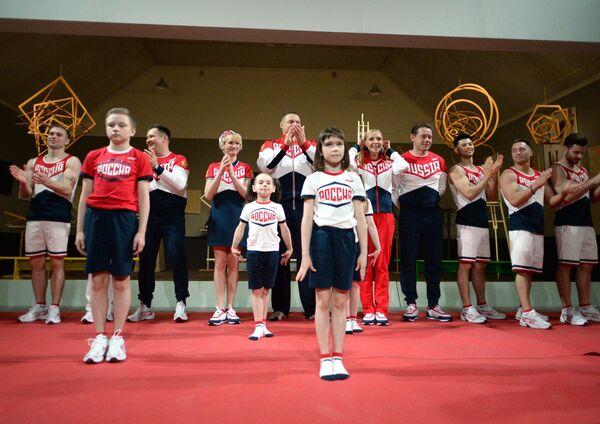 Презентация в Третьяковской галерее Олимпийской и Паралимпийской формы сборной России