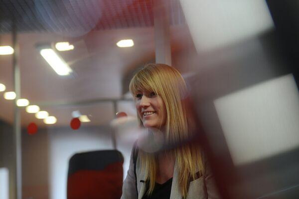 Депутат Государственной думы, олимпийская чемпионка по конькобежному спорту Светлана Журова
