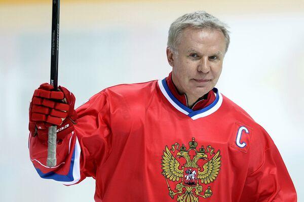 Игрок сборной России Вячеслав Фетисов