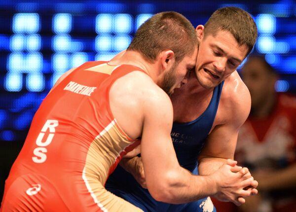 Алексей Мишин (справа) и Давит Чакветадзе