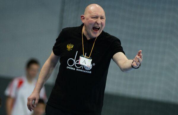 Главный тренер сборной России по гандболу Дмитрий Торгованов