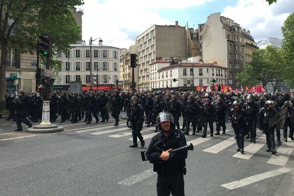 Бойцы французского спецназа