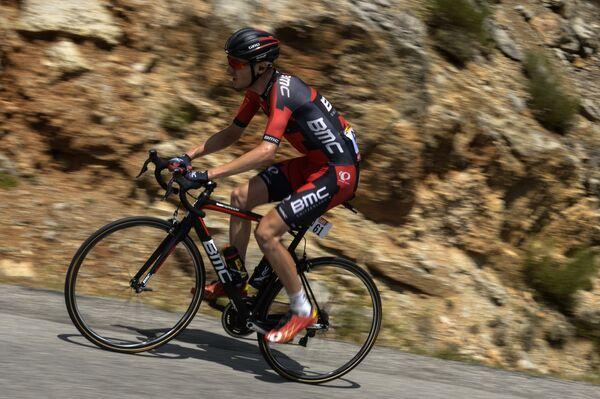 Американский велогонщик Тиджей ван Гардерен из BMC Racing