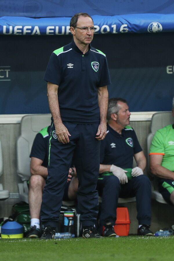 Главный тренер сборной Ирландии Мартин О'Нил