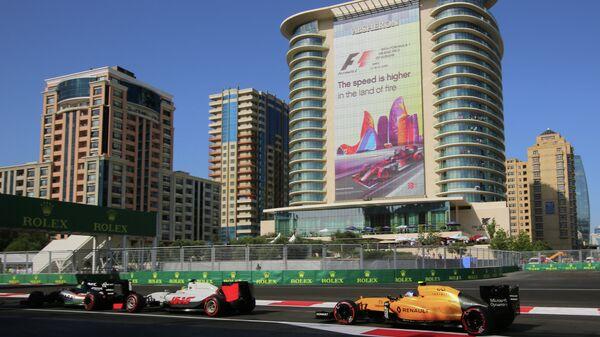 Гонщики на восьмом этапе Гран-при Европы Формулы-1 в Баку