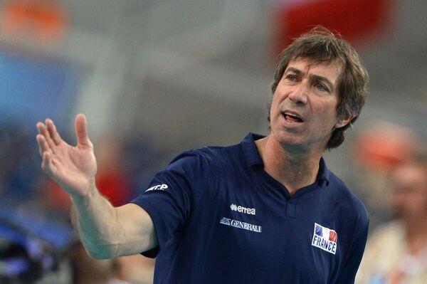 Главный тренер сборной Франции Лоран Тийе