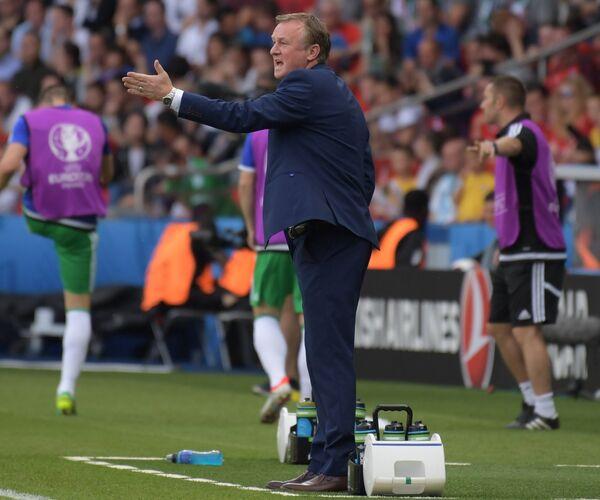Главный тренер сборной Северной Ирландии Майкл О'Нил