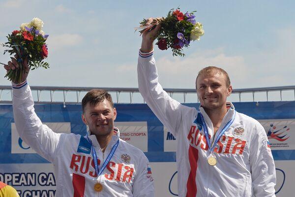 Виктор Мелантьев и Иван Штыль (справа налево)
