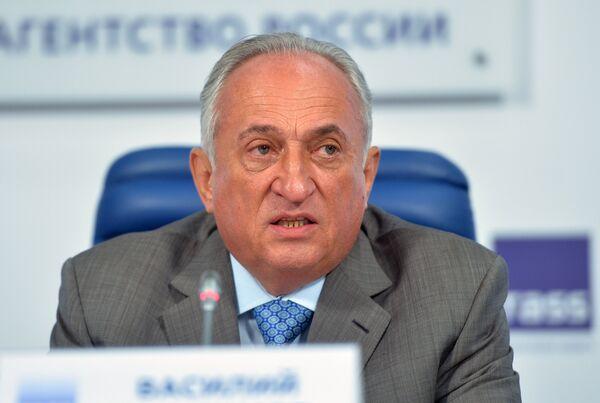Президент Федерации дзюдо России Василий Анисимов