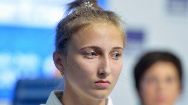 Дзюдоистка Ирина Долгова