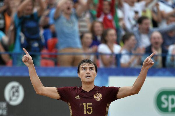 Нападающий сборной России Кирилл Романов