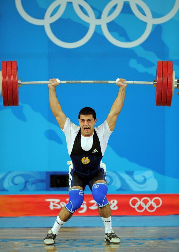 Тигран Мартиросян на Олимпийских играх в Пекине
