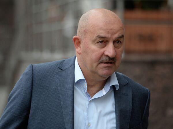 Российский футбольный специалист Станислав Черчесов