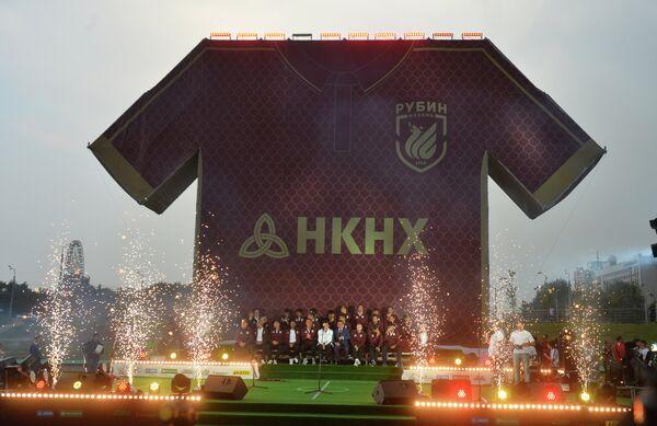 Новый логотип футбольного клуба Рубин